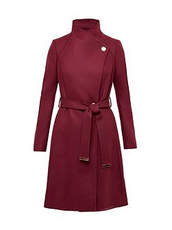 Aurore Long Wrap Coat