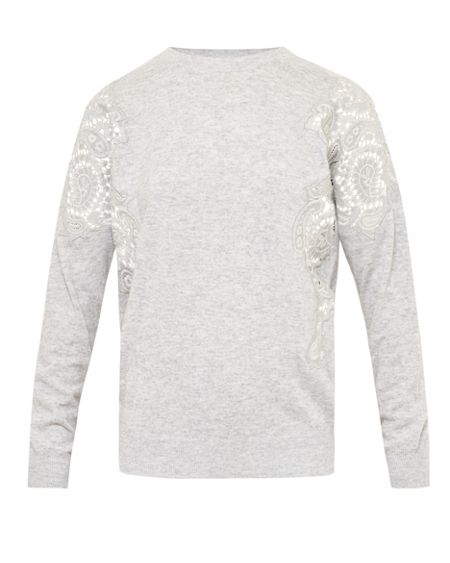 Ted Baker Tae Lace Shoulder Sweater