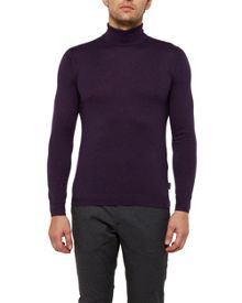 Ted Baker Hale Cashmere-blend Roll Neck Jumper