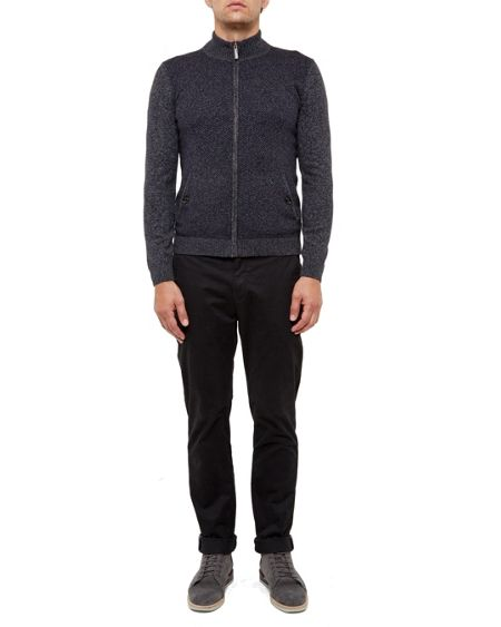 Ted Baker Conrad Funnel neck zip up cardigan