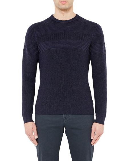 Ted Baker Rossi Crew neck textured jumper