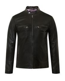 Ted Baker Pablo Leather jacket