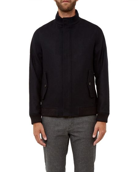 Ted Baker Adam Wool bomber jacket