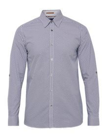Ted Baker Nugate Geo Print Cotton Shirt