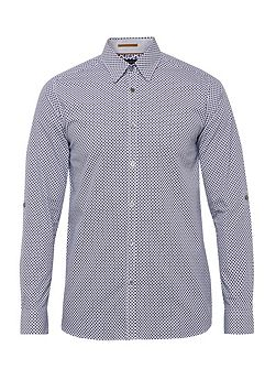 Nugate Geo Print Cotton Shirt