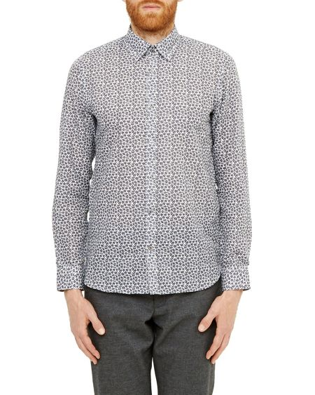 Ted Baker Toright Floral print shirt