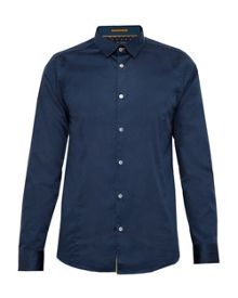 Ted Baker Algravy Satin Stretch Shirt