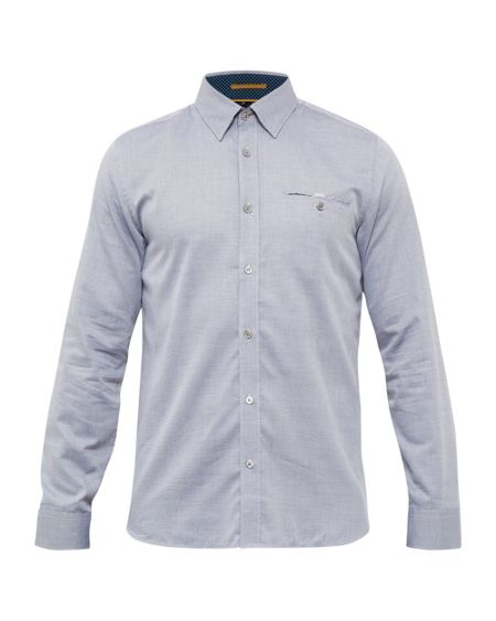 Ted Baker Thefunk Cotton Oxford Shirt