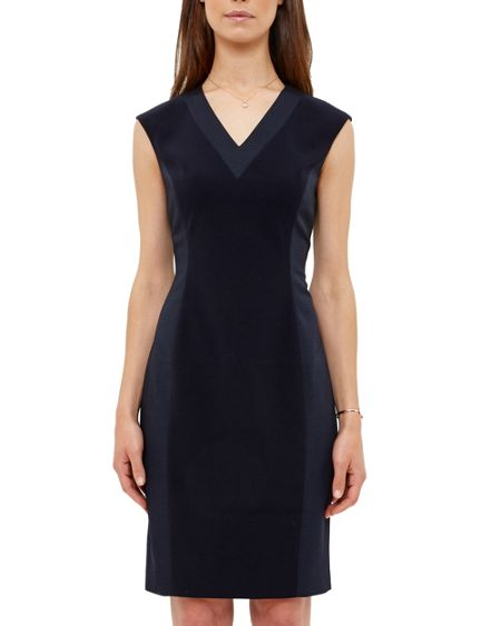 Ted Baker Zizid Ottoman Fitted Dress