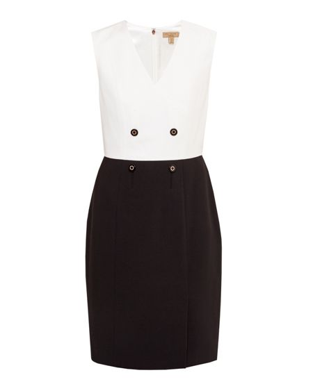 Ted Baker Leotaad Double breasted tux dress