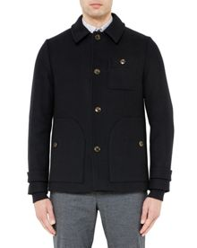 Ted Baker Osmond Collared overcoat