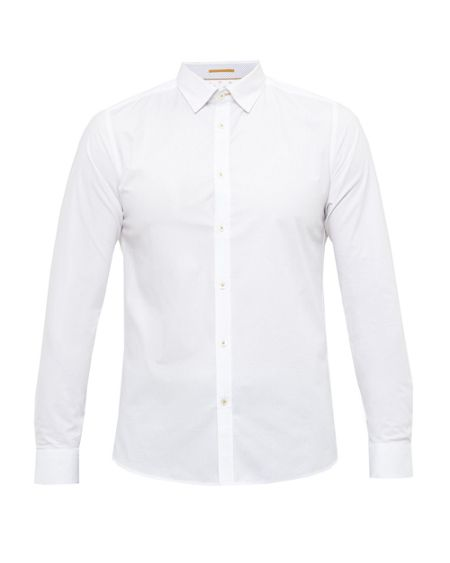 Ted Baker Loorowe Textured dobby design shirt