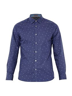 Iceream Geo Print fil Coupe Shirt