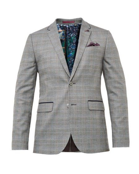 Ted Baker Cagney Checked blazer