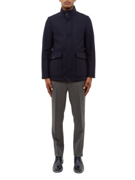 Ted Baker Joplin Twill button through coat