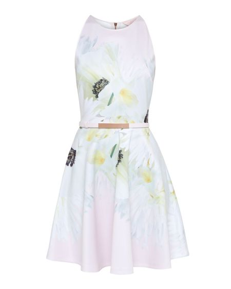 Ted Baker Tuliaa Pearly Petal Skater Dress