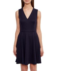 Ted Baker Tawney Ribbed Skater Dress