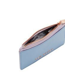 Marrion Colour block leather coin purse