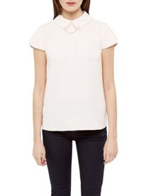 Ted Baker Chain Detail Collar Top