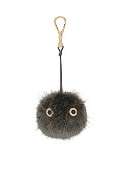 Lucyy Fluffy Bag Charm