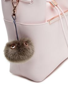 Ted Baker Lucyy Fluffy Bag Charm