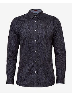Patman Tonal Floral Cotton Shirt