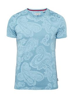 Lotto Paisley Print Cotton T-Shirt