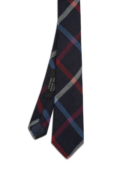 Ted Baker Pennoni Checked wool tie
