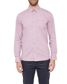 Ted Baker Allibon Micro Design Cotton Shirt