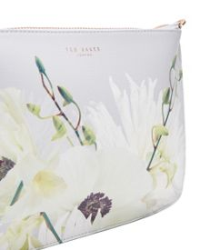 Ted Baker Airy Pearly Petal Leather Cross Body Bag
