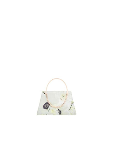 Ted Baker Pearly Print clutch bag