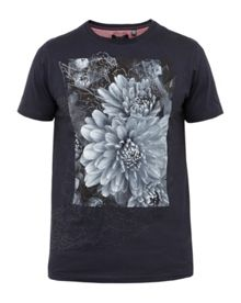 Ted Baker Malvol Floral graphic cotton T-shirt