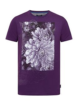 Malvol Floral graphic cotton T-shirt