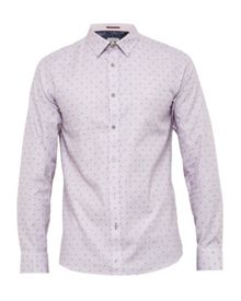 Ted Baker Thatjam fil coupe cotton shirt