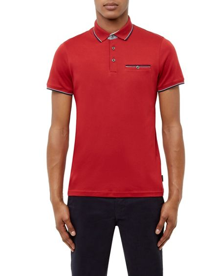 Ted Baker Kiwi Cotton Polo Shirt