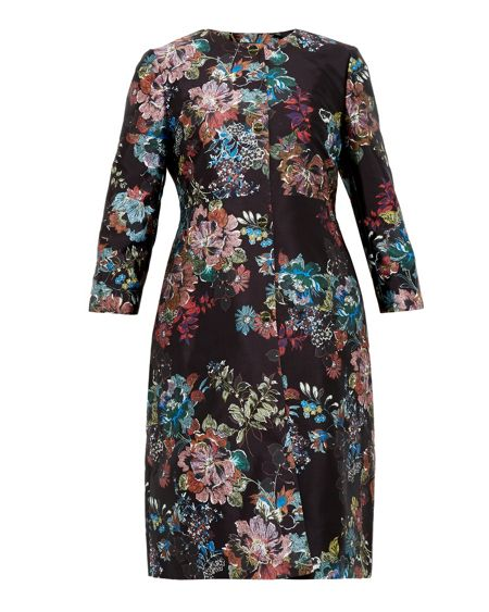 Ted Baker Honibea Antique Botanical Coat