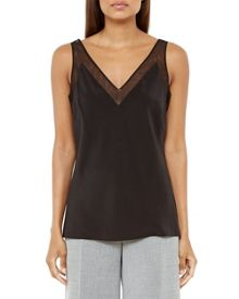 Ted Baker Leiaa Silk Mesh Top