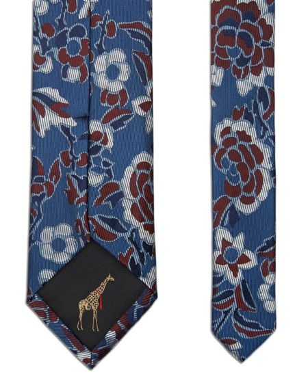 Ted Baker Ditalin Abstract floral silk tie