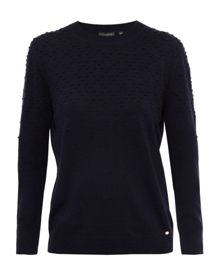 Ted Baker Sabria Bobble Crew Neck Sweater
