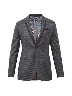 Baldwin Diamond print jacket