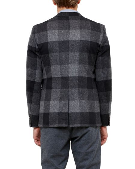Ted Baker Clark Statement checked jacket