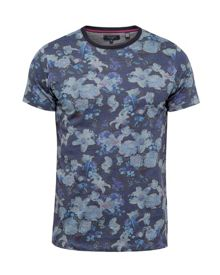 Ted Baker Mushrum Floral printed cotton T-shirt