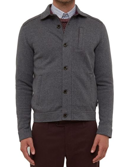 Ted Baker Andino Collared jersey jacket