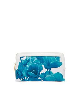 Ashli Blue Beauty Small Wash Bag