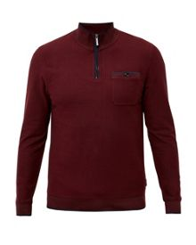 Ted Baker Franco Funnel neck zip up jumper