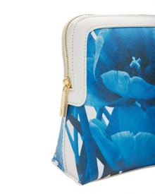 Ted Baker Telma Blue Beauty Large Wash Bag