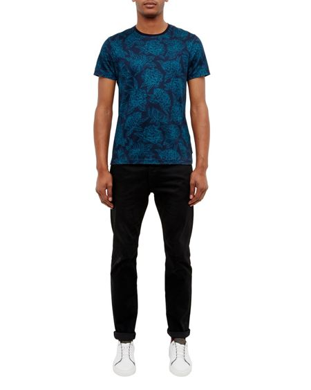 Ted Baker Piero Floral printed cotton T-shirt