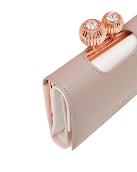 Ted Baker Amilda Two-Tone Small Leather Purse