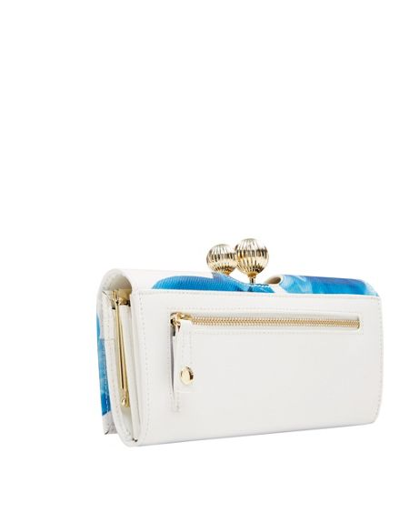 Ted Baker Akash Blue Beauty Matinee Purse