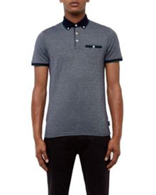 Ted Baker Luigi Striped cotton polo shirt